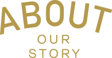 ABOUT Our Story logotyp