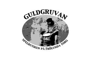 Spelbutiken Guldgruvan logotyp