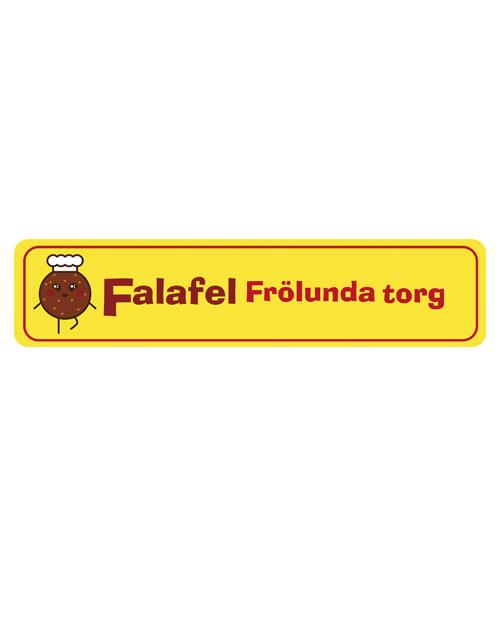 Falafel Frölunda torg (Food truck ) logotyp